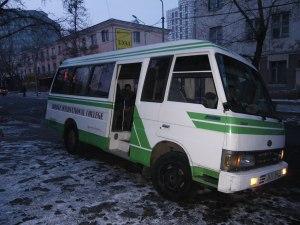Deze bus staat elke ochtend voor ons klaar om exact 7.55u